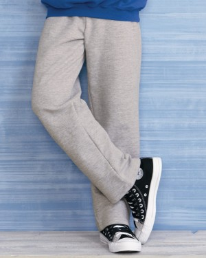 Gildan - Youth Heavy Blend Open Bottom Sweatpants - 18400B