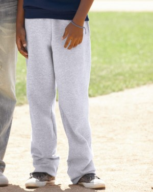 Champion - Eco Youth Open Bottom Sweatpants with Pockets - P890
